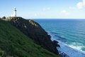 Byron Bay Lighthouse in Australia Royalty Free Stock Photo