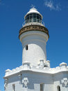 Byron bay lighthouse. Australia Royalty Free Stock Photo