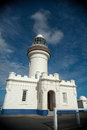 Byron lighthouse no ships today on the fine sunny afternoon Stock Photography