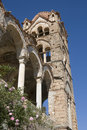 Byzantine bell tower - Mystras Greece Stock Photos