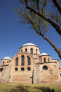 The Byzantine church of Panagia Kosmosoteira. Stock Photo