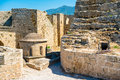 Byzantine church of st george inside kyrenia castle cyprus Royalty Free Stock Photography