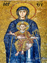 Byzantine mosaic art Royalty Free Stock Photo