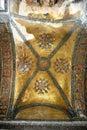 Byzantine mosaics in Hagia Sofia Royalty Free Stock Photo