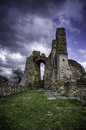 Byzantine ruins of a church Royalty Free Stock Photo