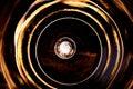 Círculos de la luz Fotografía de archivo libre de regalías