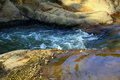 Córrego delicado Fotografia de Stock