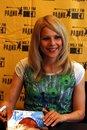 C.C.Catch signe des autographes Photo stock