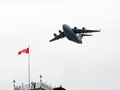 C globemaster on fly by for national day of honour in canada ottawa may a canadian forces flies ceremonies ottawa may the Stock Photos