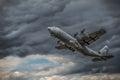 C-130 Hercules Royalty Free Stock Photo