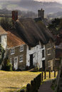 Côte d'or - Shaftsbury - Dorset - Angleterre Images stock