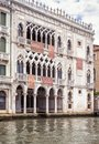 Ca` d`Oro palace on the Grand Canal, Venice, Italy Royalty Free Stock Photo