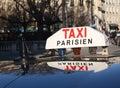 A Cab In Paris