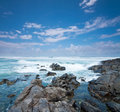 Cabarita beach in australia during the day Royalty Free Stock Photo