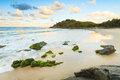 Cabarita beach at twilight Stock Image