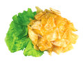 Cabbage isolated Royalty Free Stock Photography