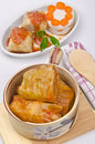 Cabbage rolls Stock Photography