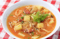 Cabbage soup Stock Photography