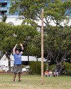 Caber Toss Royalty Free Stock Photo