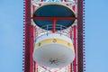 Cabin of Ferris wheel Royalty Free Stock Photo