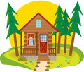 Cabin Icon Stock Photo