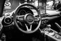 Cabin of a roadster Mazda MX-5 Royalty Free Stock Photo
