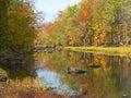 Cabin Run Creek Royalty Free Stock Photo