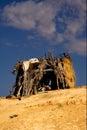 Cabin in sahara