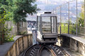 Cable car funicular Royalty Free Stock Photos