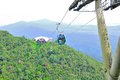 Cable Car in Langkawi Island Stock Photography