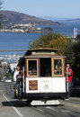 Cable Car in SF Stock Images