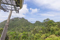 Cable car station, Gunung Machinchang, Langkawi Stock Photo