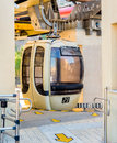 Cable Car at the station. Royalty Free Stock Photo