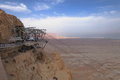 Cable-car to Masada Fortification - Israel Royalty Free Stock Photo