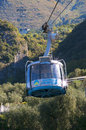 Cable Car up Monte Baldo Stock Photos