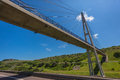 Cable Concrete Bridge  Stock Photography