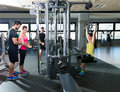Cable Pulley System Gym Workou...