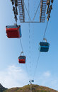 Cable railway in Vung Tau, Vietnam Royalty Free Stock Photo