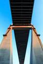 Cable-stayed bridge Bridge pier Stock Images