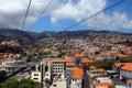 Cablecar, Madeira island, Portugal Stock Image