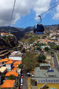 Cablecar, Madeira island, Portugal Stock Photography