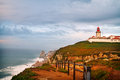 Cabo da roca europe s westernmost point where the land ends and the sea begins portugal Stock Image
