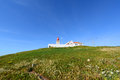 Cabo da roca lighthouse sintra portugal is the most westerly point of the europe mainland Royalty Free Stock Images
