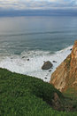 Cabo da roca ocean beside portugal Royalty Free Stock Photography
