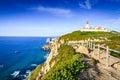 Cabo da Roca, Portugal - Atlantic Ocean Royalty Free Stock Photo