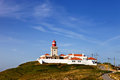 Cabo da roca west most point of europe portugal Royalty Free Stock Photography