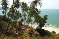 Cabo de rama beach goa Immagine Stock