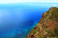 Cabo girao madeira portugal view from one of the highest cliffs in europe Stock Photo