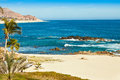 Cabo san lucas mexico beautiful beach in overlooking the sea of cortez Stock Photos