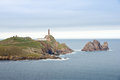 Cabo vilan in costa da morte galicia spain Royalty Free Stock Images